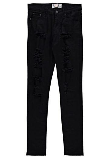 Heavy-Ripped-Skinny-Jeans-Black-3