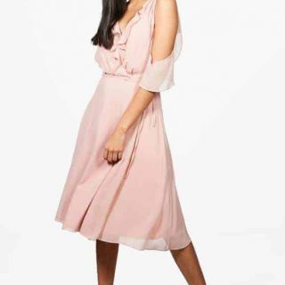 Shoulder-Midi-Dress-Blush