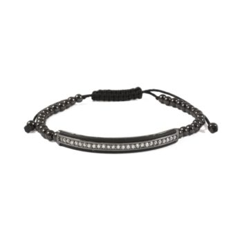 Hematite Bracelet With Bar Charm | Norliden
