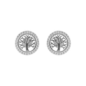 Sterling Silver CZ Tree of Life | Norliden