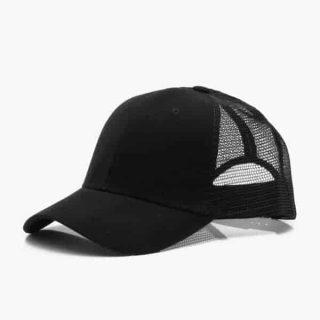 Black Trucker Cap   Norliden