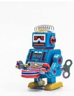 Toys robot tin